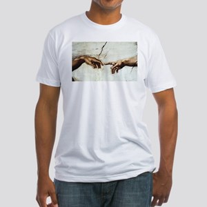 Creation of Man  Fitted T-Shirt