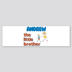 Andrew - The Little Brother Bumper Sticker