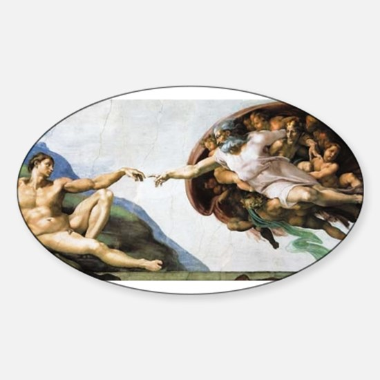 Creation of Adam Oval Decal
