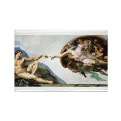 Creation of Adam Rectangle Magnet (100 pack)