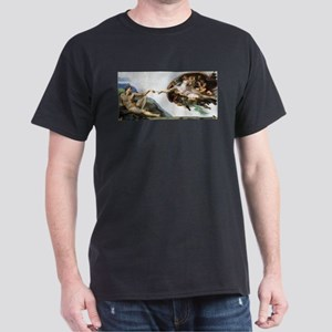 Creation of Adam Dark T-Shirt