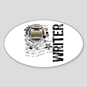 Writer Alchemy Oval Sticker