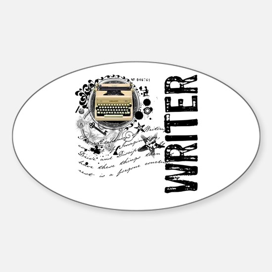 Writer Alchemy Oval Decal