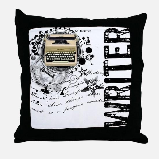 Writer Alchemy Throw Pillow