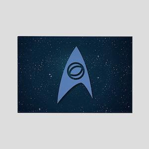 Star Trek Science Officer Rectangle Magnet