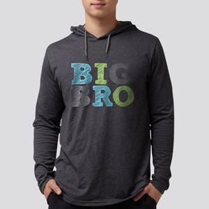 Sketch Style Big Bro Long Sleeve T-Shirt
