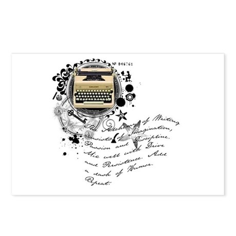 The Alchemy of Writing Postcards (Package of 8)
