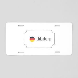 Oldenburg Aluminum License Plate