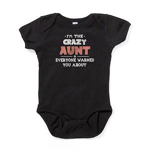 e6ff06d22bcb Crazy Aunt Baby Clothes   Accessories - CafePress