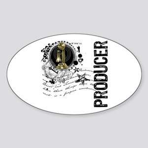 Producer Alchemy Oval Sticker