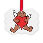 Cute Valentine's Cupid Ornament