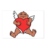 Cute Valentine's Cupid Postcards (Package of 8)