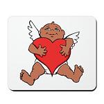 Cute Valentine's Cupid Mousepad
