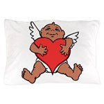 Cute Valentine's Cupid Pillow Case
