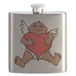 Cute Valentine's Cupid Flask