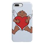 Cute Valentine's Cupid iPhone 8/7 Plus Tough Case