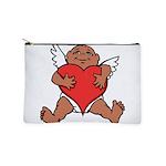 Cute Valentine's Cupid Makeup Bag