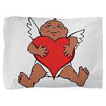 Cute Valentine's Cupid Pillow Sham