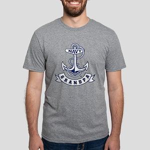 US Naval Academy Grandpa Mens Tri-blend T-Shirt