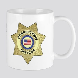 Corrections Badge Mug