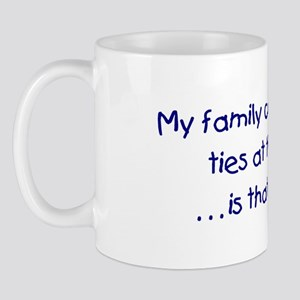Genealogy Coat of Arms (blue) Mug