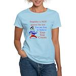 Your vote counts? Women's Light T-Shirt