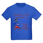 Your vote counts? Kids Dark T-Shirt