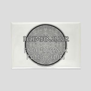 Mayan Calendar 2 Rectangle Magnet