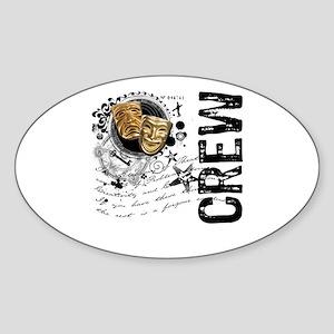 Stage Crew Alchemy Oval Sticker