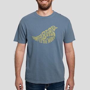 Nevermore Raven Mens Comfort Colors Shirt