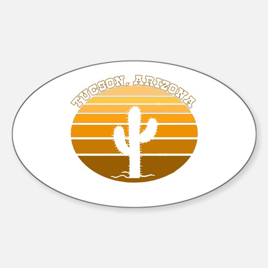Tucson, Arizona Oval Decal