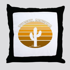 Tucson, Arizona Throw Pillow