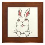 Pocket Easter Bunny Framed Tile
