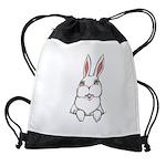 Pocket Easter Bunny Drawstring Bag