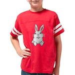 Pocket Easter Bunny Youth Football Shirt