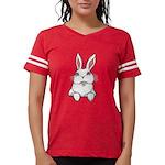 Pocket Easter Bunny Womens Football Shirt
