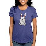 Pocket Easter Bunny Womens Tri-blend T-Shirt