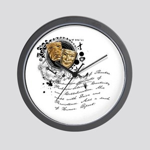 The Alchemy of Theatre Production Wall Clock