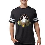 Pocket Easter Bunny Mens Football Shirt