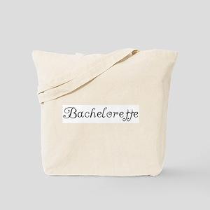 Bachelorette (Spicy-black) Tote Bag