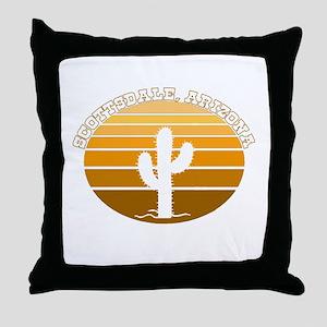 Scottsdale, Arizona Throw Pillow