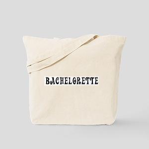 Bachelorette (Twirly-black) Tote Bag