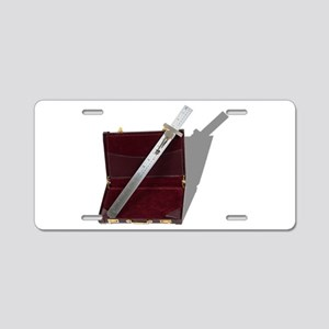 BusinessCalculations061210s Aluminum License Plate