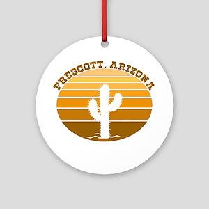 Prescott, Arizona Ornament (Round)