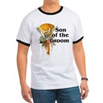 Jumping the Broom Son of the Groom Ringer T
