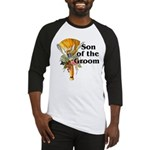 Jumping the Broom Son of the Groom Baseball Jersey