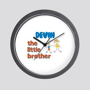Devin - The Little Brother Wall Clock