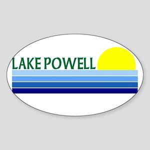 Lake Powell Oval Sticker