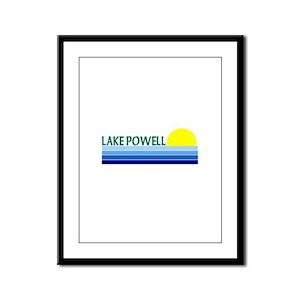 Lake Powell Framed Panel Print