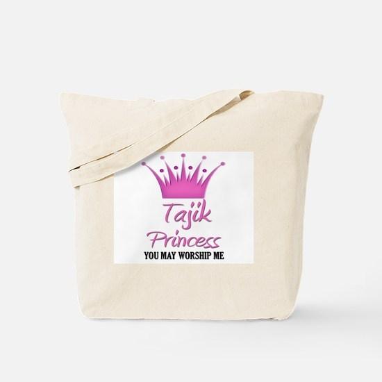 Tajik Princess Tote Bag